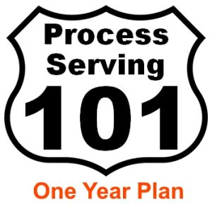 Process server education Washington
