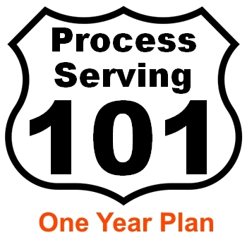 Process server education Washington